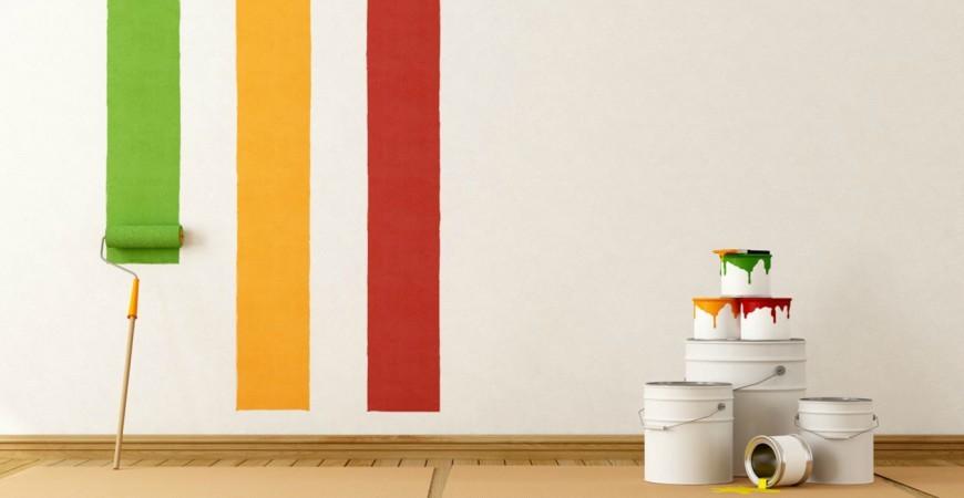 Los colores de moda para pintar