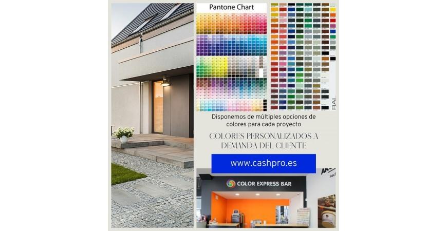Personalizamos los colores de todas nuestras pinturas dependiendo de las necesidades de tu proyecto