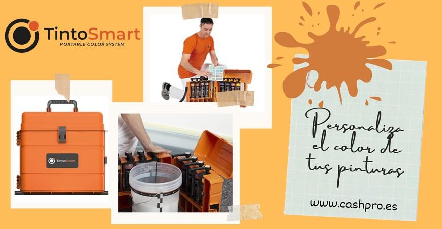 TintoSmart - Personaliza un color, donde y cuando quieras